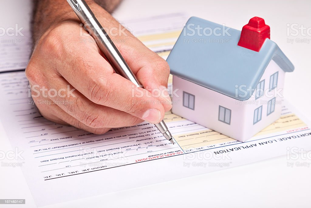 Buying a House royalty-free stock photo