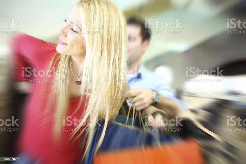 Buying clothes. royalty-free stock photo