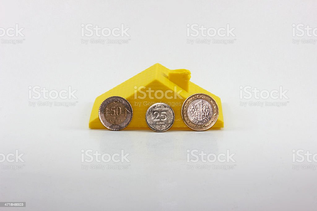 buying house royalty-free stock photo