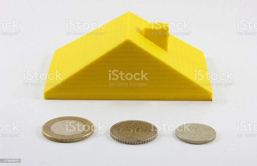 buying house royalty-free stock photo