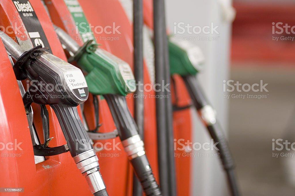 Buying Petrol 2 royalty-free stock photo