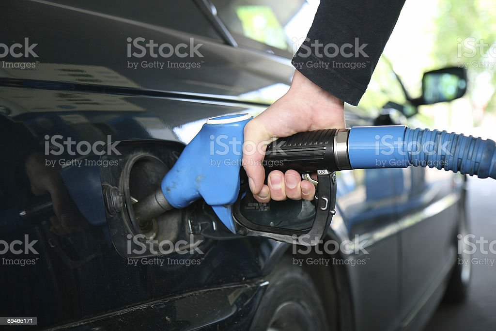 buying petrol royalty-free stock photo