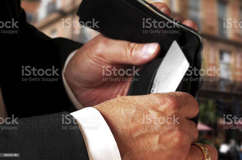 Buying power stock photo