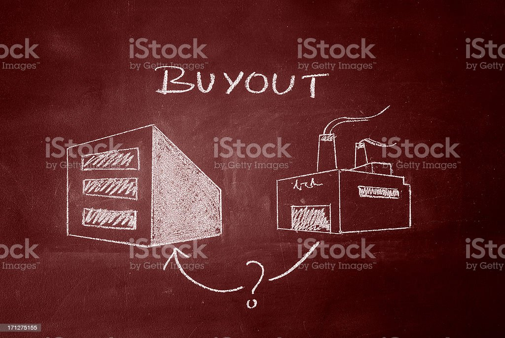 Buyout stock photo