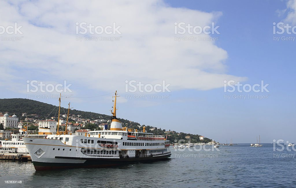 Buyukada Port royalty-free stock photo