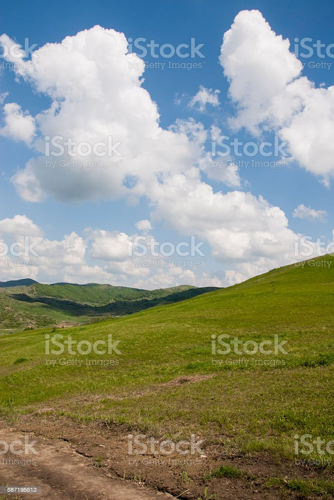 Buzau - Romania - Summer time in country side stock photo