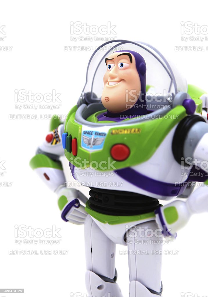 Buzz Lightyear Toy royalty-free stock photo
