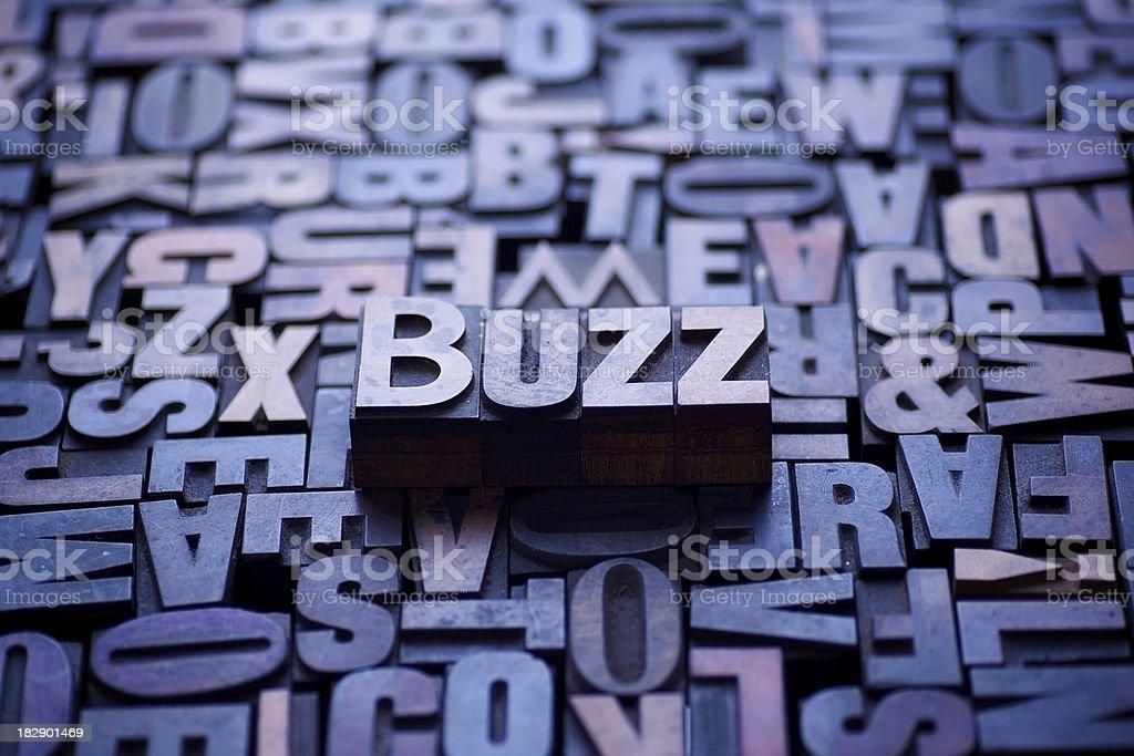 Buzz... royalty-free stock photo