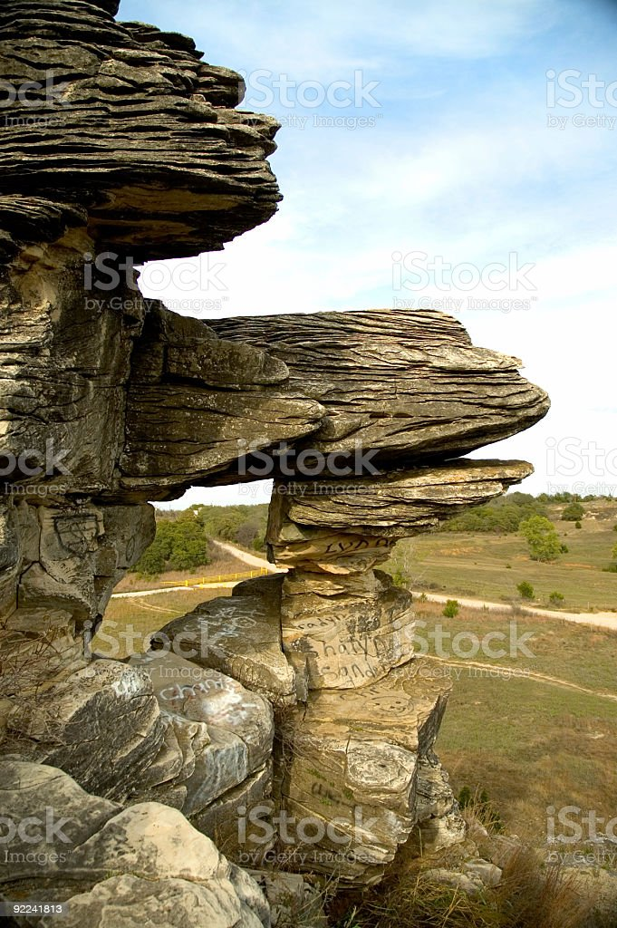 Buzzards Roost 2 royalty-free stock photo