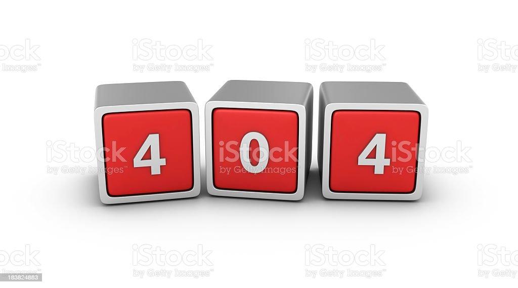 Buzzword Blocks: 404 stock photo