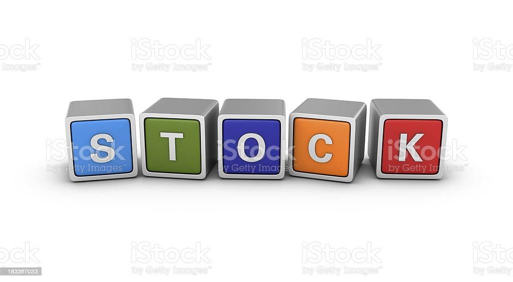 Buzzword Blocks: STOCK royalty-free stock photo
