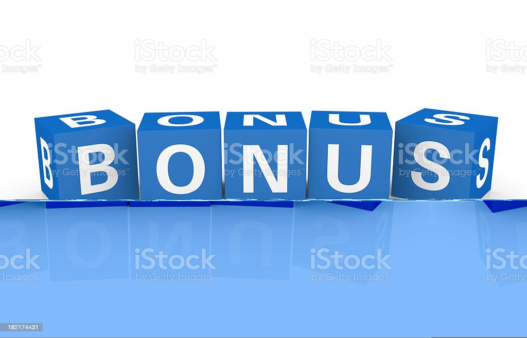 Buzzword Cubes: Bonus royalty-free stock photo