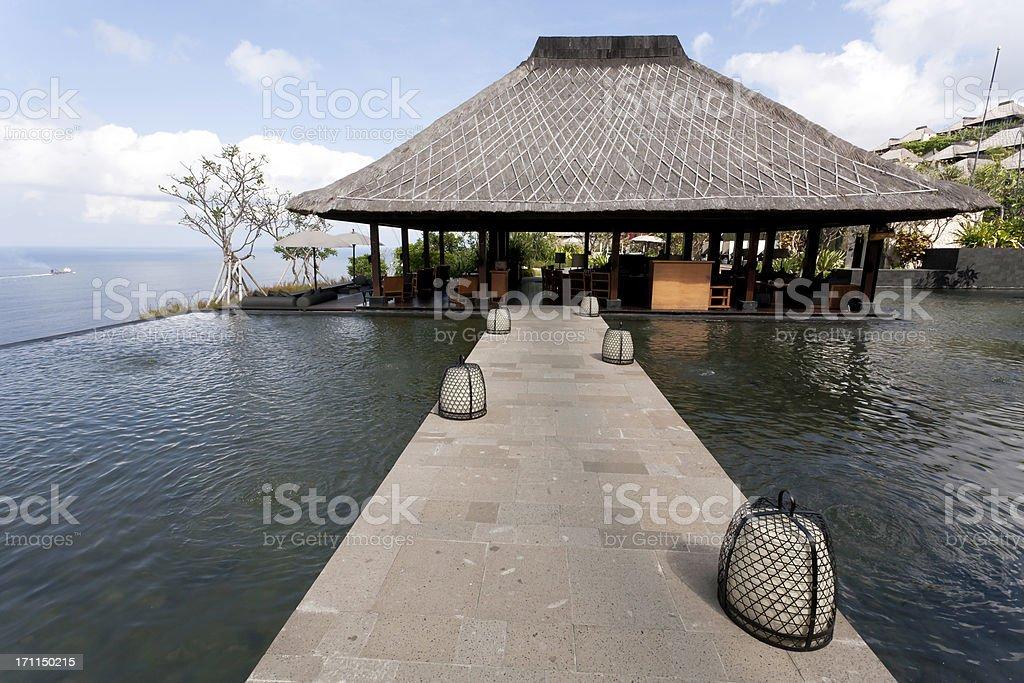 Bvlgari Resort in Bali royalty-free stock photo