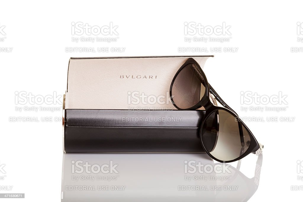 Bvlgari sunglasses. stock photo