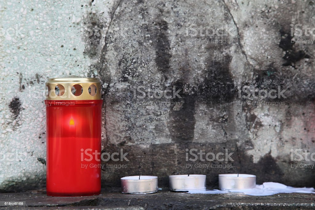By Candle Light stock photo