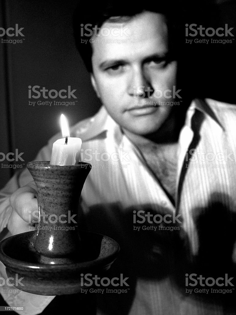 By Candlelight stock photo