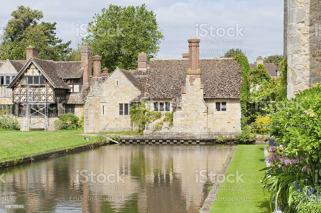 By Hever castle stock photo