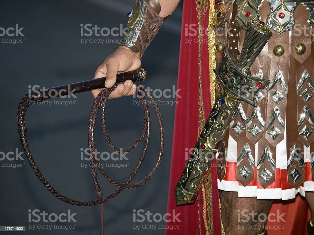 By Sword...and the Whip stock photo