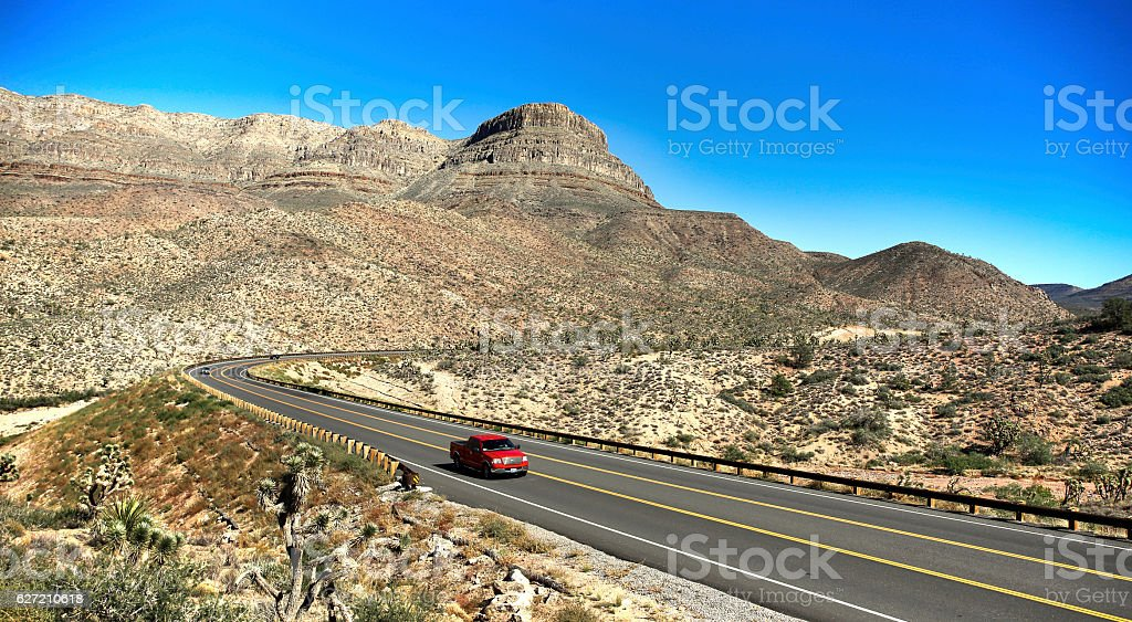 por el desierto stock photo