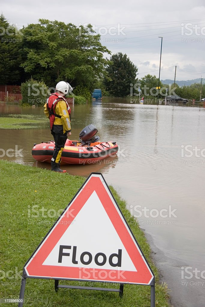 By the flood royalty-free stock photo