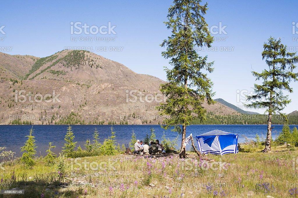 By the lake Dvargalaak. royalty-free stock photo