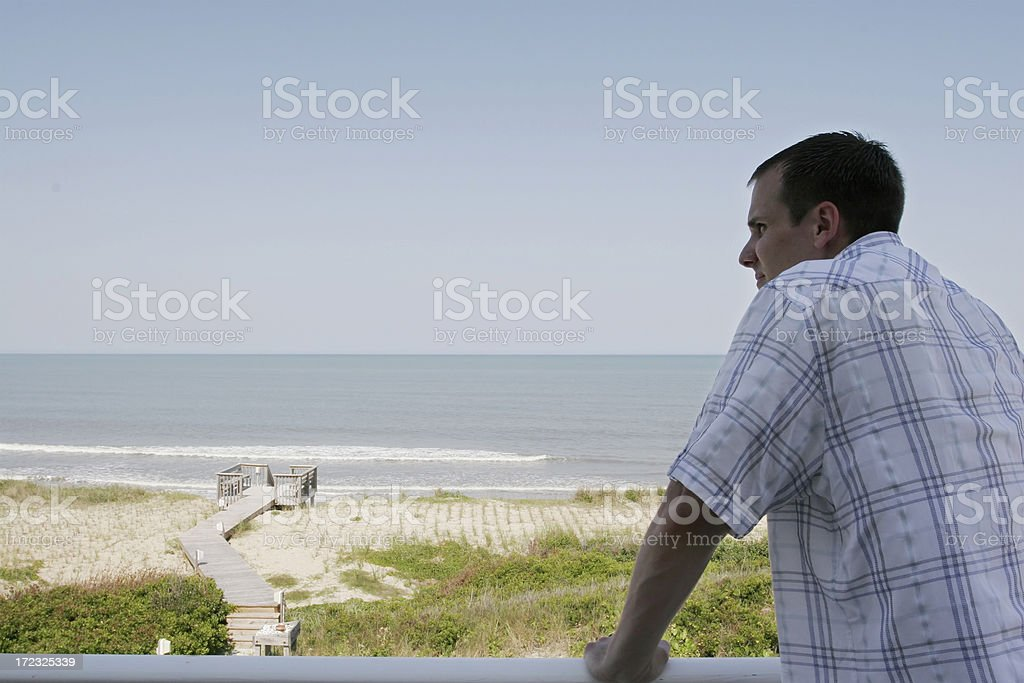 By the ocean royalty-free stock photo