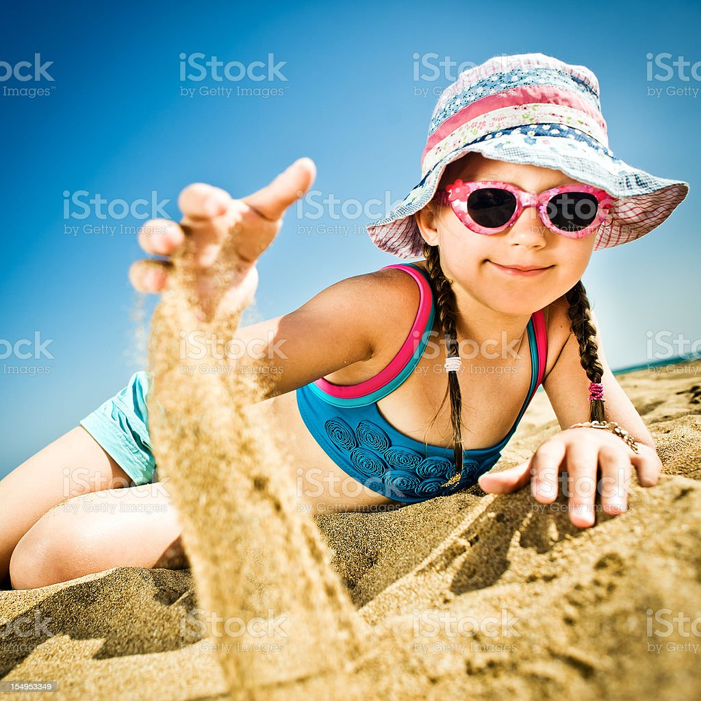 By the sea royalty-free stock photo