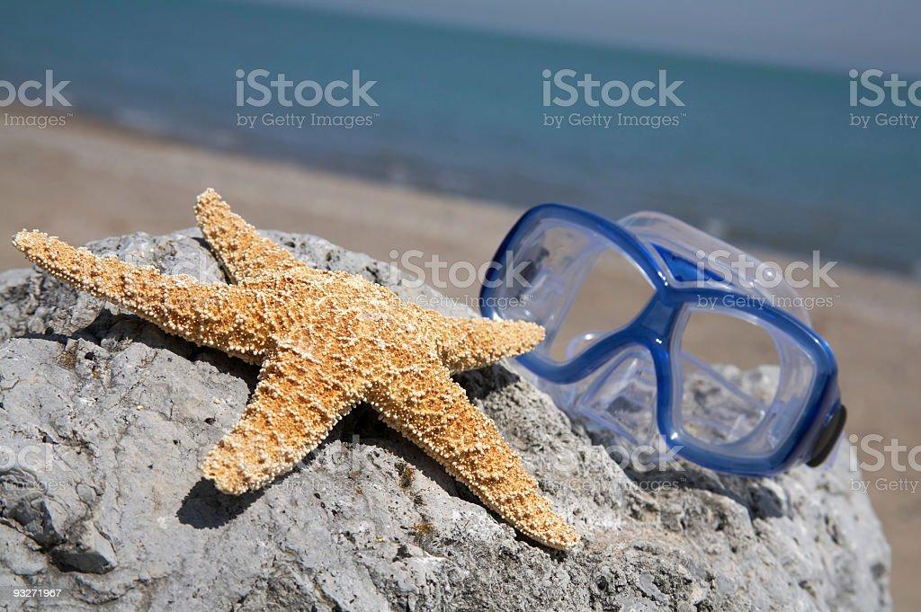 By The Seashore royalty-free stock photo