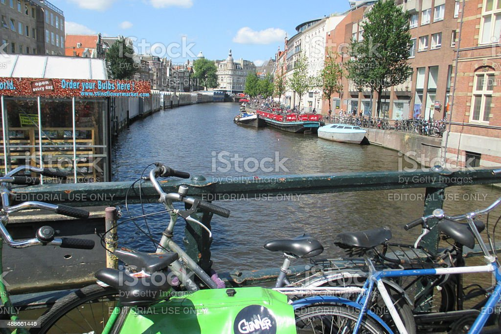 Bycicle City stock photo