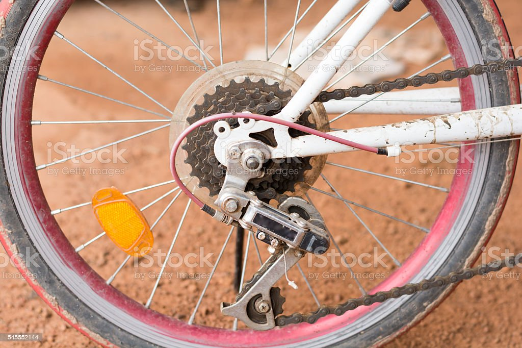 bycicle gear stock photo