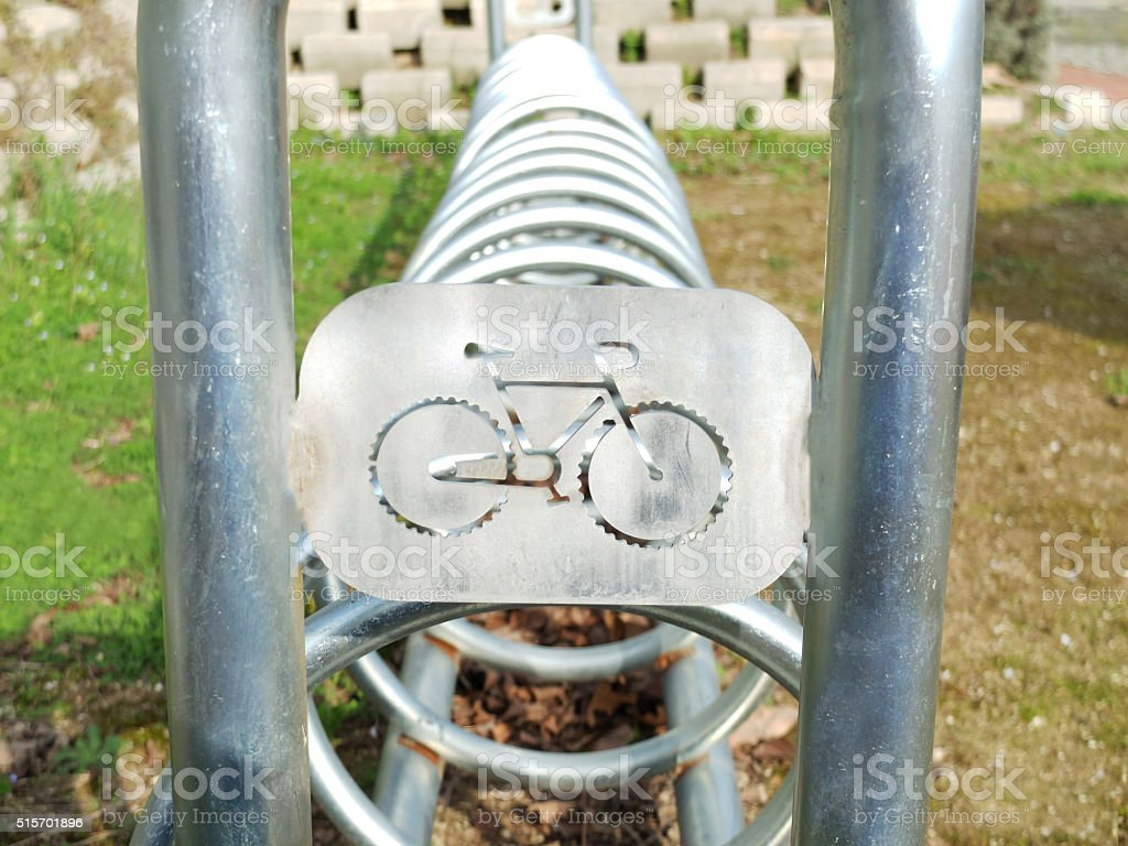 Bycicle Park stock photo