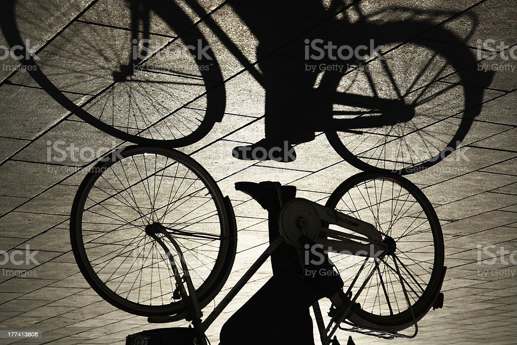Bycicle royalty-free stock photo