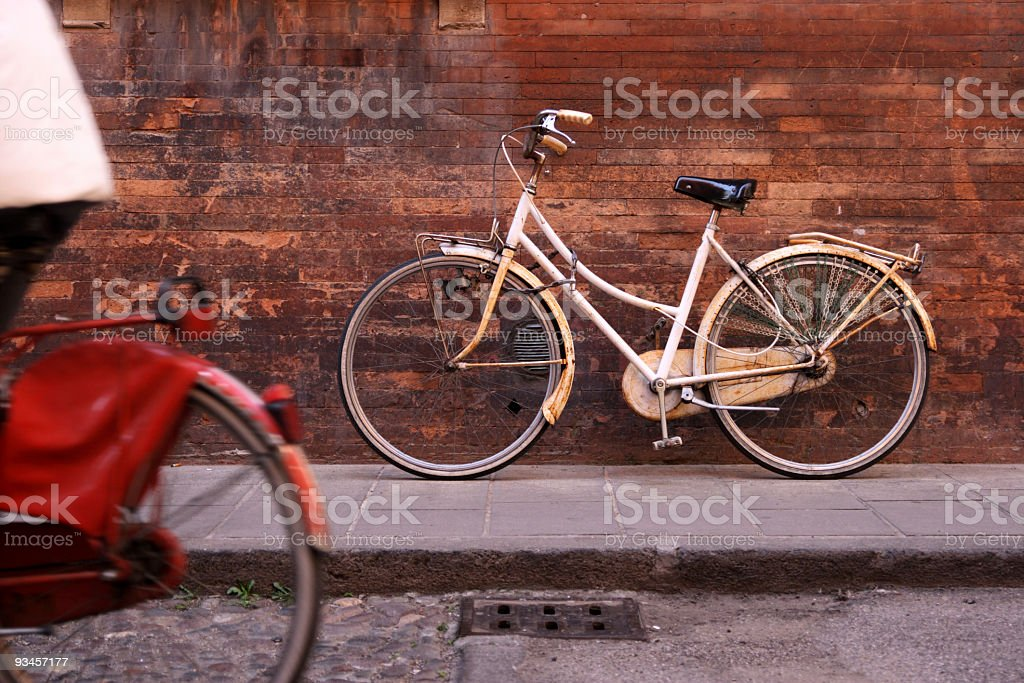Bycicles royalty-free stock photo