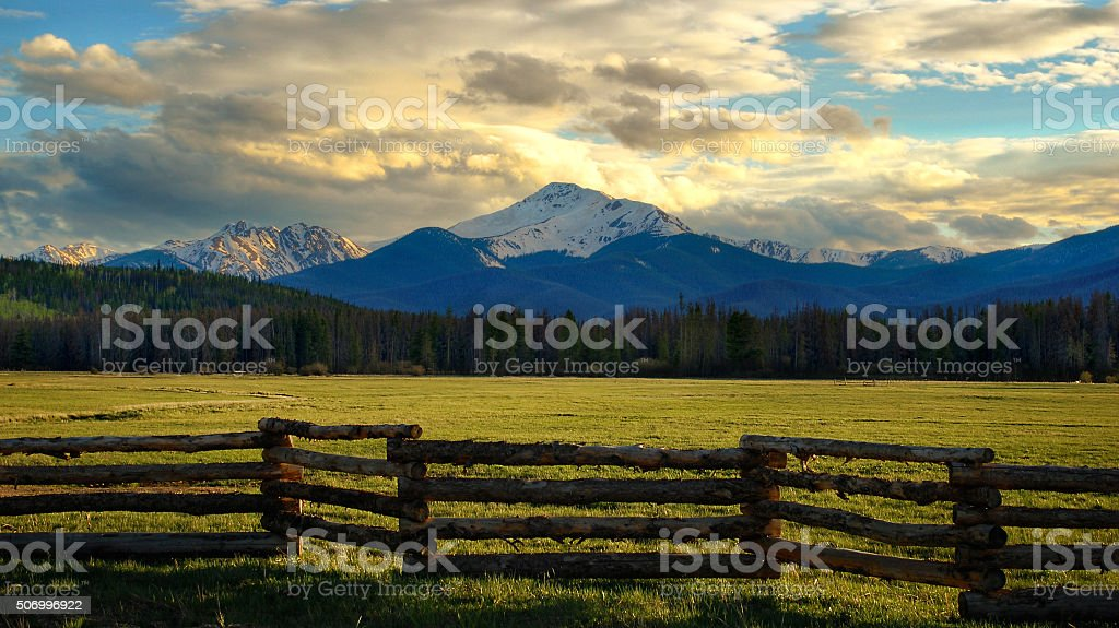 Byers Peak stock photo