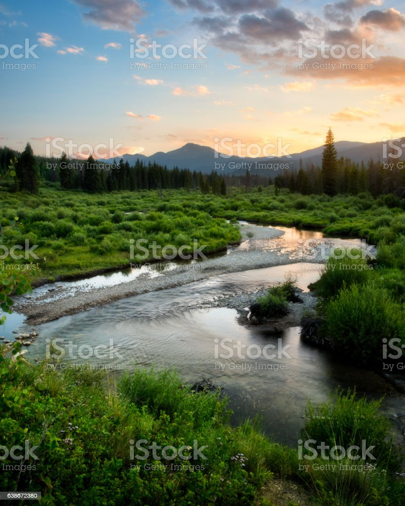 Byers Peak Wilderness Area stock photo