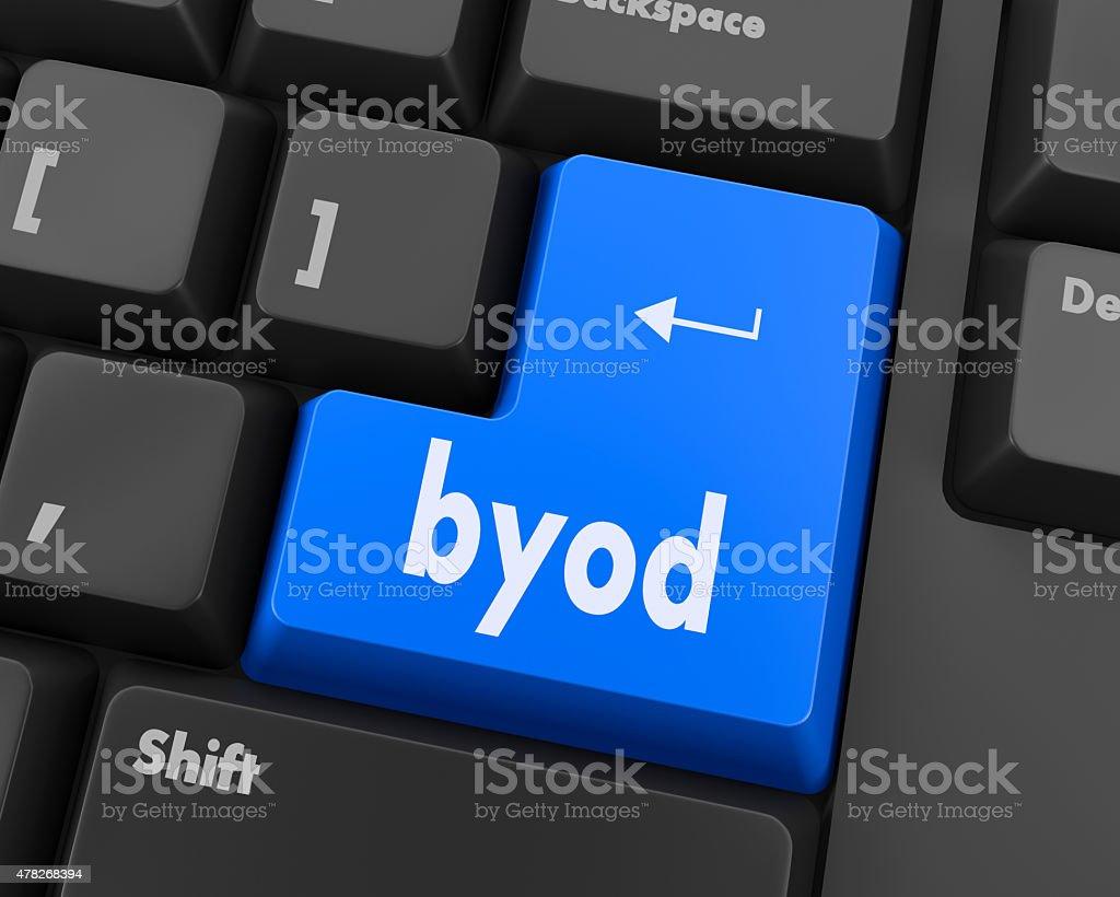Byod stock photo