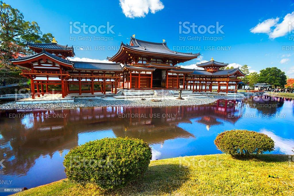 Byodo-in Temple. Kyoto stock photo