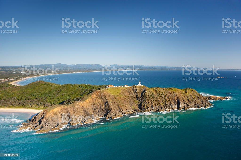 Byron Bay Headland stock photo