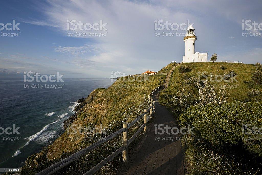 Byron Bay Lighthouse Australia stock photo