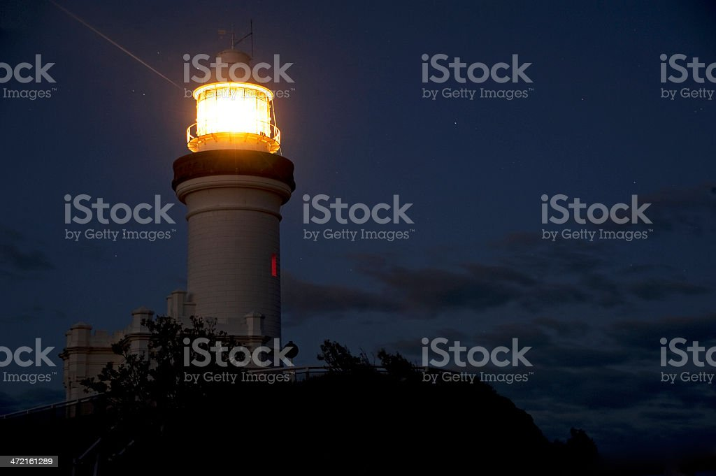 Byron Bay Lighthouse stock photo