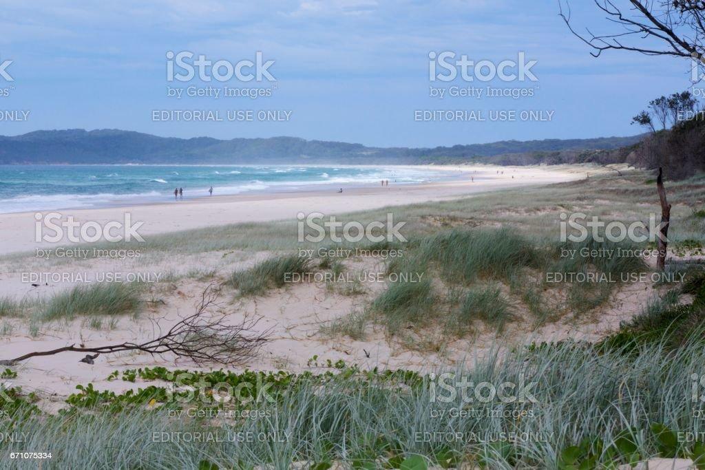 Byron Bay, North Coast NSW Australia stock photo