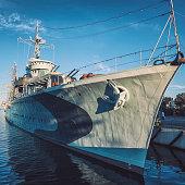 ORP Błyskawica destroyer, Gdynia