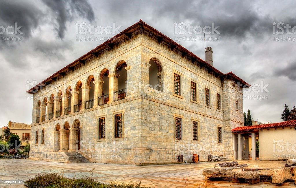 Byzantine and Christian Museum in Athens, Greece stock photo