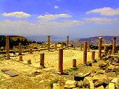 Byzantine Basilica, Umm Qais (Gadara) Jordan