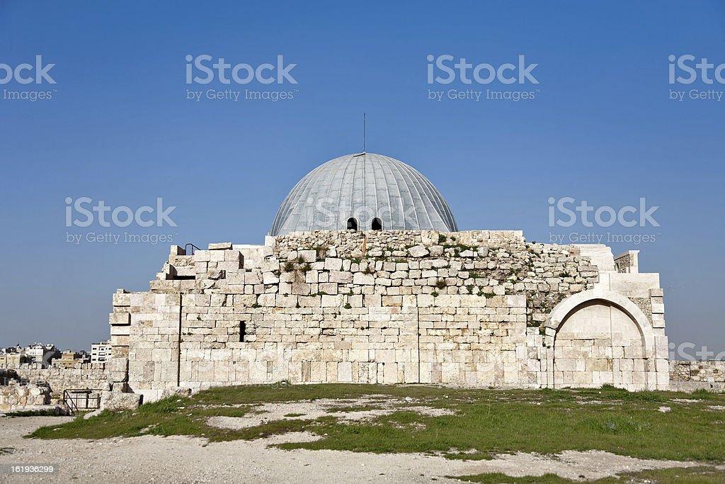 Byzantine church Jerash, Jordan stock photo