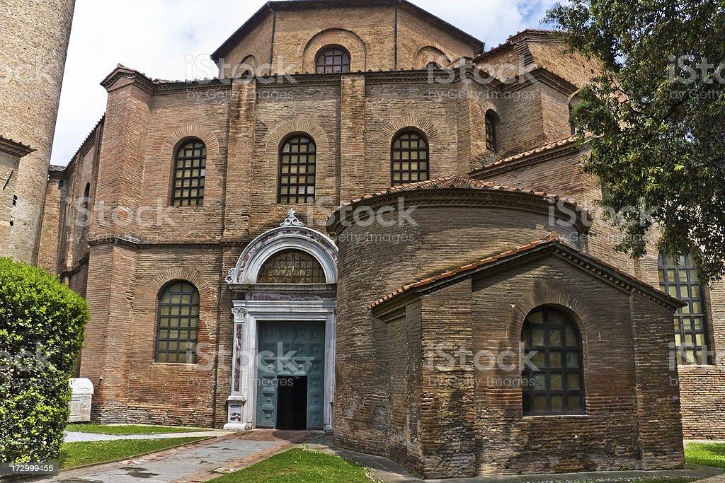 Byzantine Church of San Vitale, Ravenna royalty-free stock photo