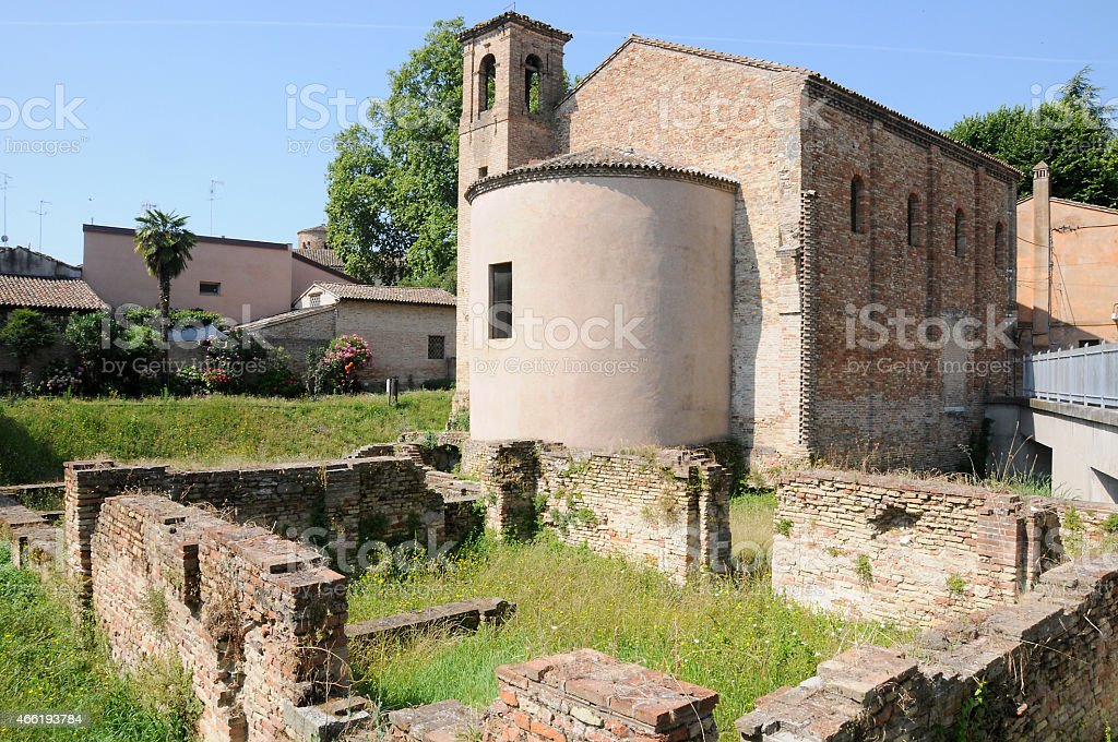 Byzantine Church , Ravenna stock photo