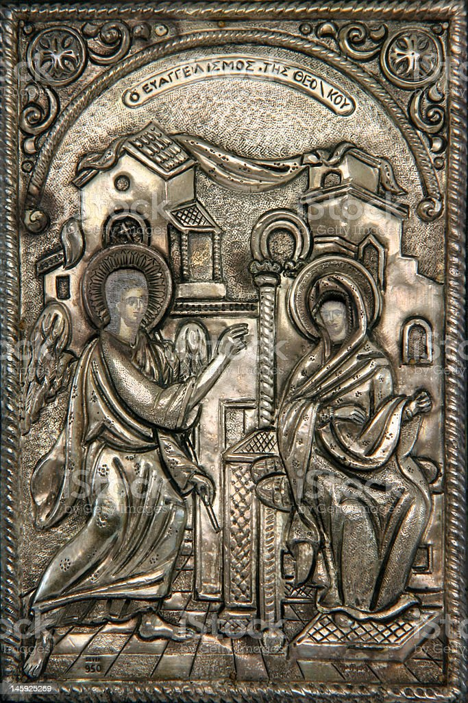 byzantine icon royalty-free stock photo