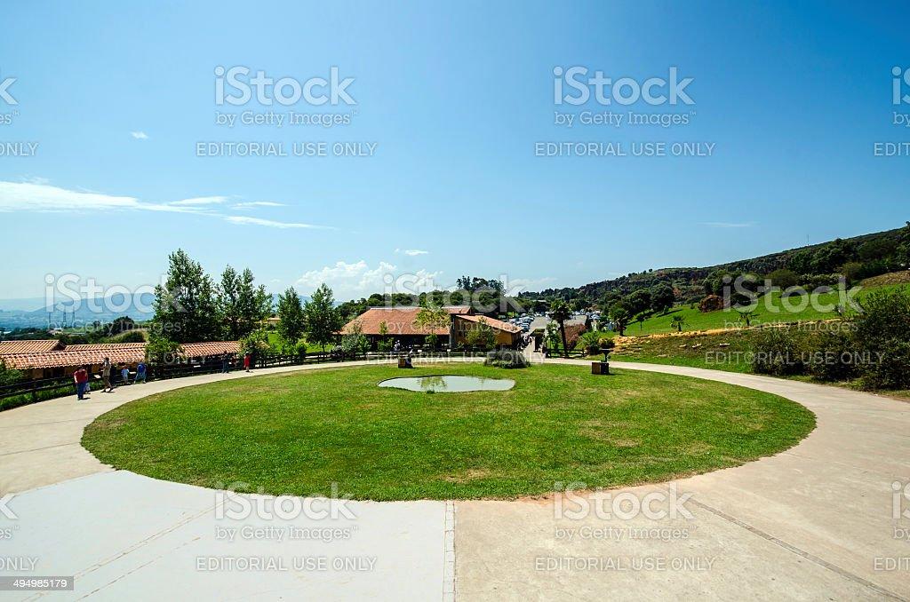 Cabarceno Natural Park stock photo