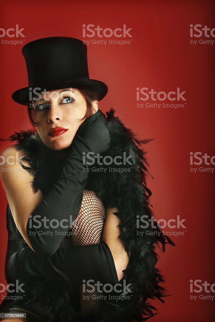 Cabaret inspiration royalty-free stock photo